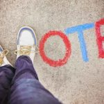 Protests can encourage imperiled people for a day, votes can save them for a lifetime