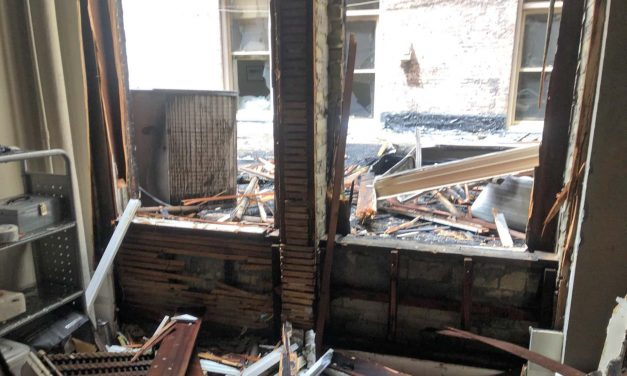 Urban Milwaukee: Local news outlet gets back to work after devastating office fire