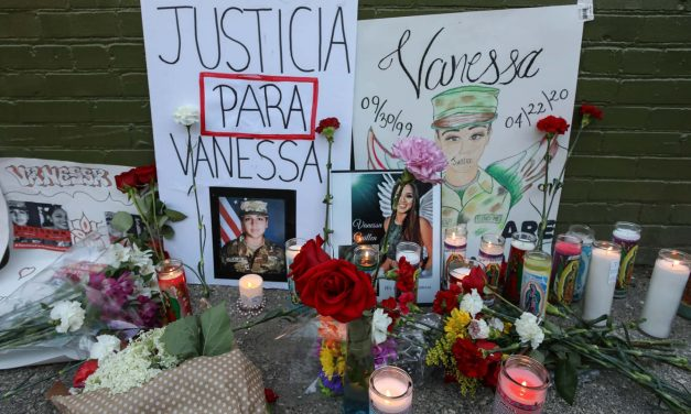 Vigil for Vanessa Guillen: Latino community calls for further investigation into soldier killed on Army base