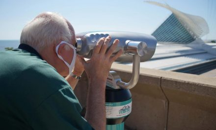 Viewaukee: Interactive program invites residents use street binoculars to see city's historic past