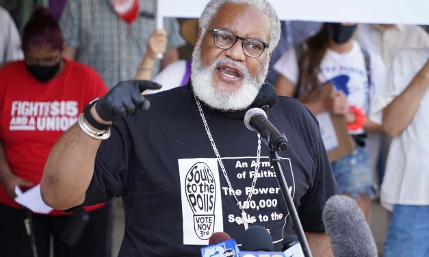 Souls to the Polls: COVID-19 survivor Greg Lewis leads ministry group to stop voter suppression