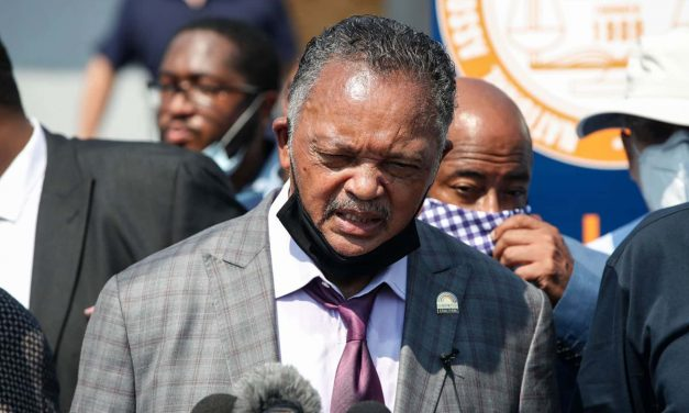 """Jesse Jackson condemns Kenosha's """"system of racism in law enforcement"""" during visit to city"""