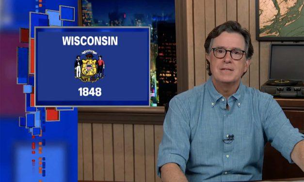 Helping Wisconsin Vote: TV host Stephen Colbert launches nonpartisan #BetterKnowABallot initiative