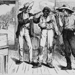 """Republican's """"ballot security"""" has historically relied on armed poll watchers and white vigilantism"""