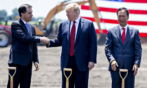 Foxconn's nearly abandoned manufacturing plant seen as political project for influencing election