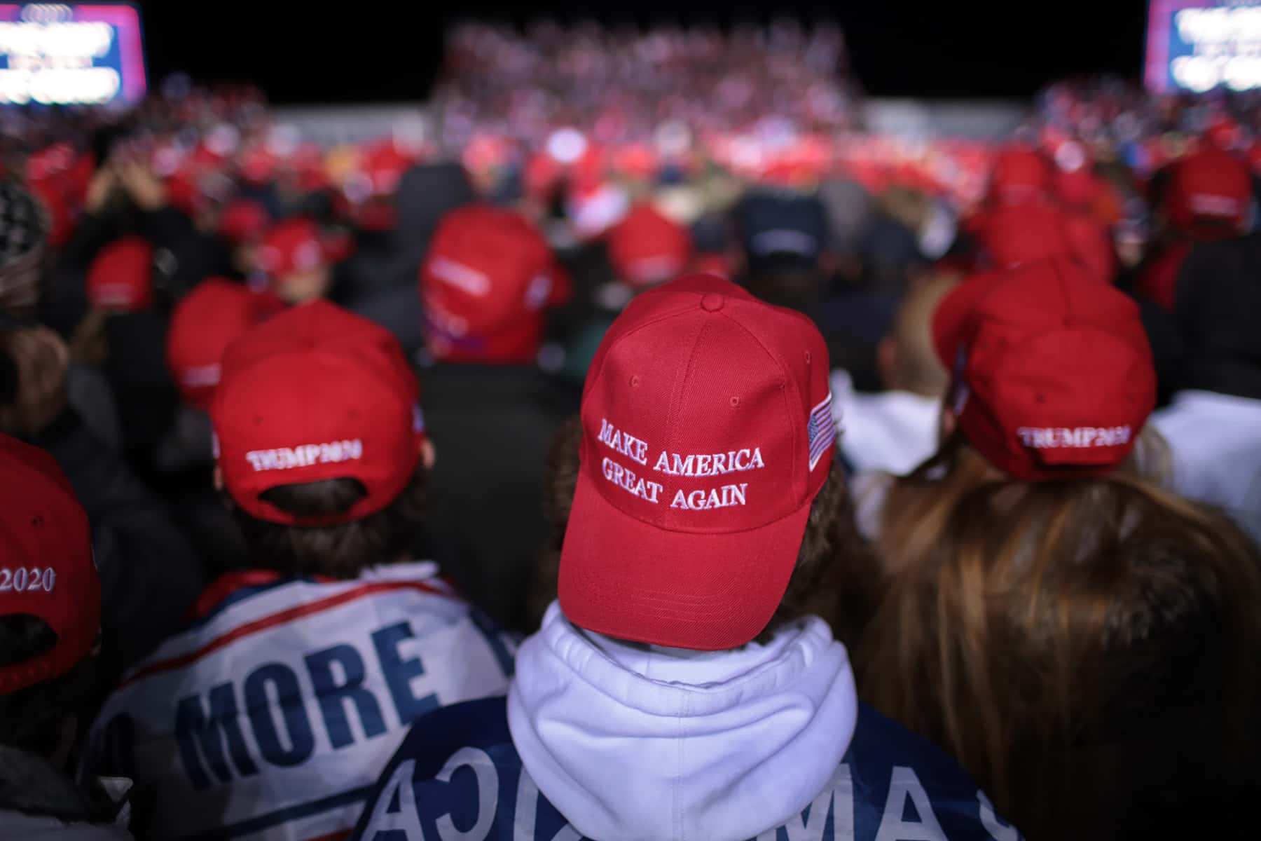 Black President Trump 2020 American Baseball Cap With Leaves MAGA NATIONALIST