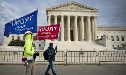 The election is over: Supreme Court unanimously rejects Trumpublican attack on Joe Biden's victory