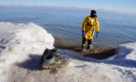 A Pandemic Plunge for 2021: Looking back at past Polar Bear dips into a freezing Lake Michigan
