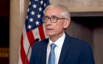 Governor Tony Evers delivers a virtual 2021 State of the State Address due to ongoing pandemic