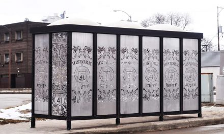MCTS Bus Shelters get design makeover to celebrate Historic Highway 41 route
