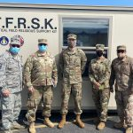 Field operations by Chaplains of the Wisconsin National Guard brings relief to COVID response troops