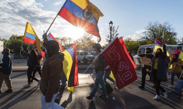 Milwaukee holds march in solidarity with activists in Colombia who are being massacred by police