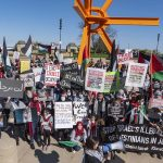 Rally in Milwaukee calls for an end to violence against Palestinians in Gaza as full-scale war looms