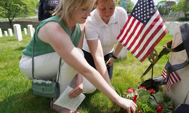 John Afton: Descendants honor first veteran buried at Wood National Cemetery on 150th anniversary