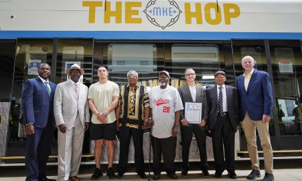 Milwaukee honors Black baseball payers from the Negro Leagues in educational initiative on The Hop