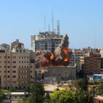 Gaza tower that served as home to international media organizations was destroyed by Israeli air strike