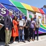 Milwaukee celebrates Pride Month with rainbow-themed transit vehicles and LGBTQ+ public art