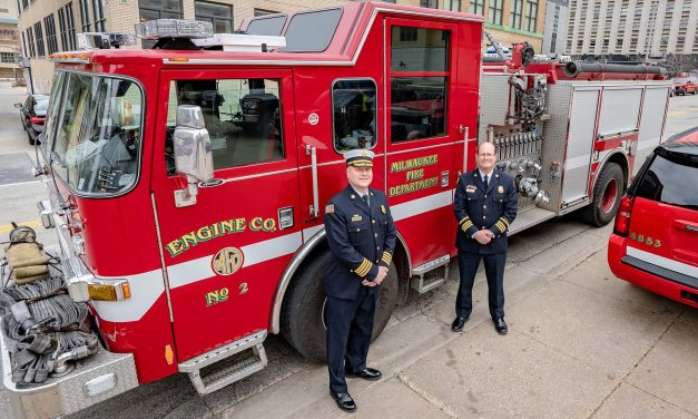 A fourth-generation firefighter: Aaron Lipski plans to make diversity a priority as Milwaukee's new Fire Chief