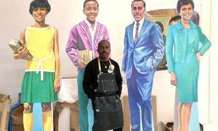 "Mural inspired by Jim Crow era ""Negro Motorist Green Book"" to be installed overlooking Lake Michigan"