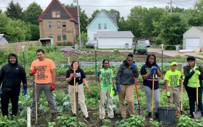 Outpost and Walnut Way partner on a sustainable urban agriculture program for Milwaukee youth