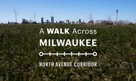 Map: A Walk Across Milwaukee