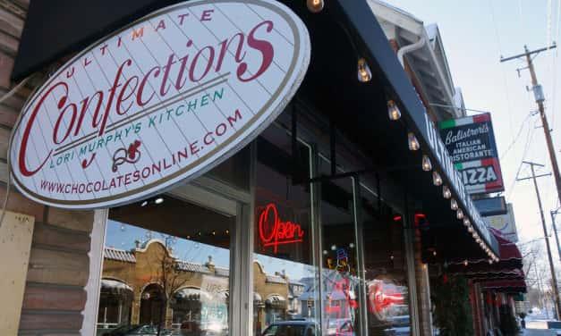 A chocolate shop that would make Wonka proud