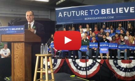 Video: Brostoff introduces Bernie