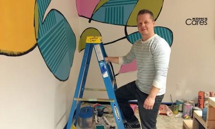 Art by Jeff Redmon fills Kohl's design lab