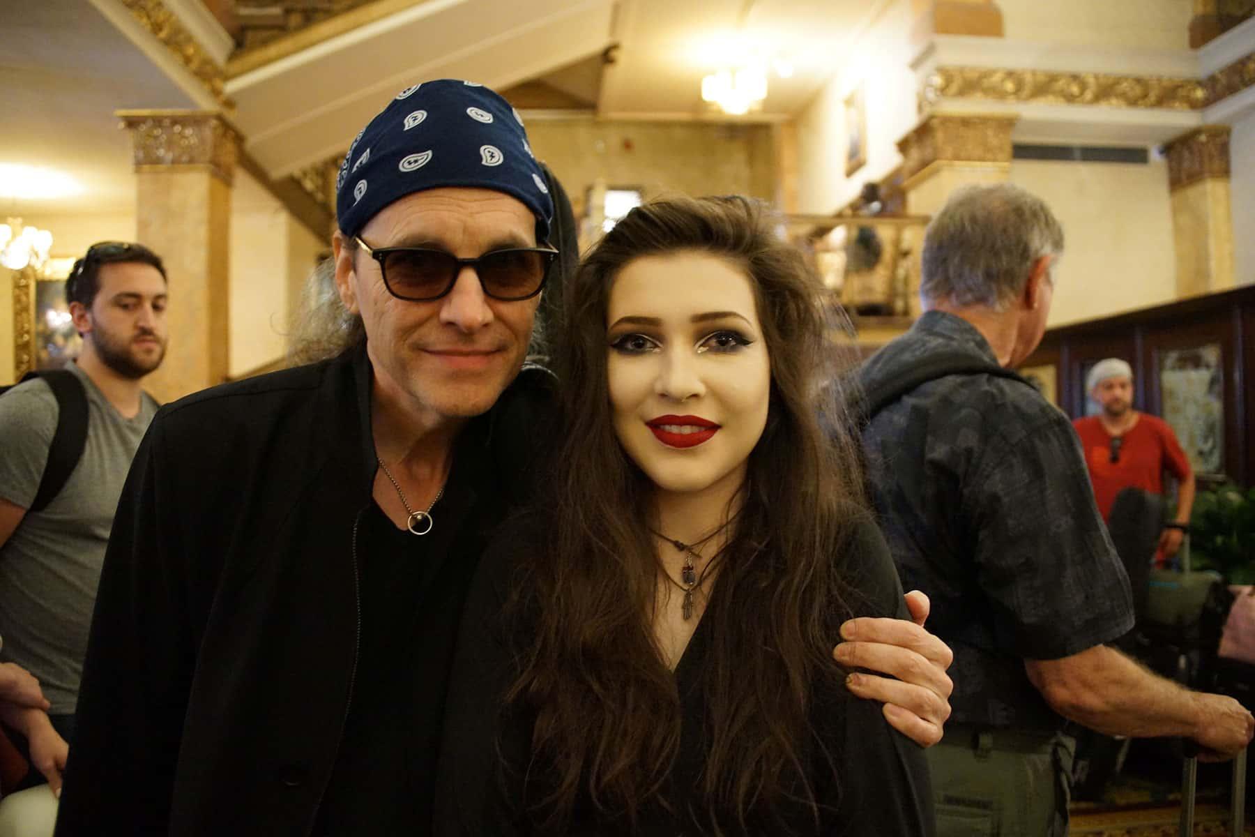 Rain Neumann with father, Kurt Neumann