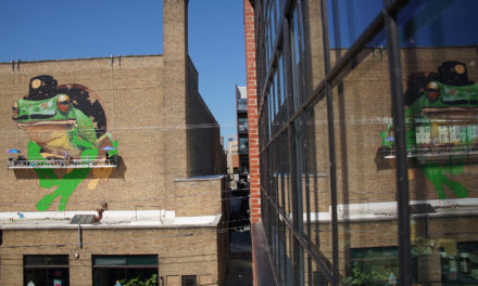 Mural movement paints its home in East Side Alley