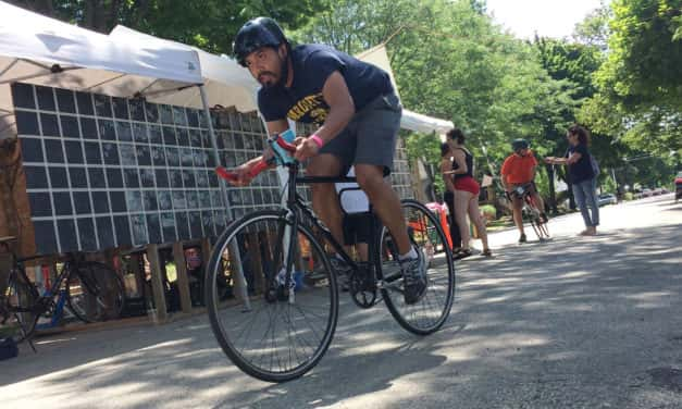 Riverwest community spirit goes on the road for 24-hour bike ride