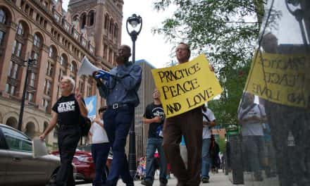 International Day of Peace brings together groups with common cause
