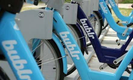 Bublr Bikes already surpass 50k trips this year