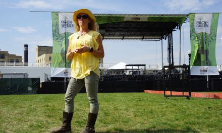 Sustainability powered music at Rock the Green