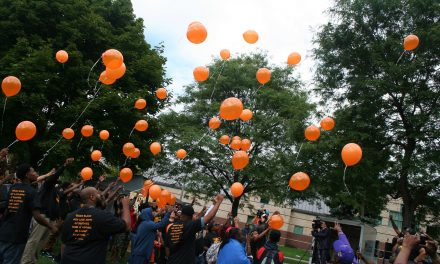 300+ Strong rally honors Eric Von and encourages unity