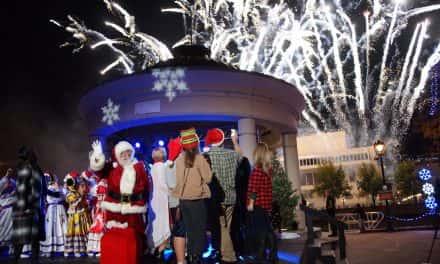 Tree lighting kicks off the 2016 holiday season