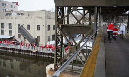 Photo Essay: Santa Cycle Rampage rolls into town