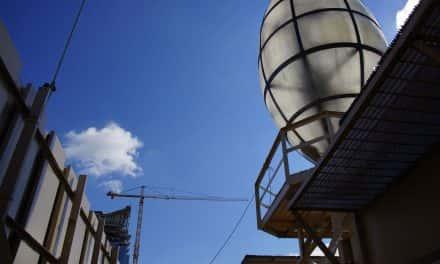 New lighting to shine on Historic Gas Light Building