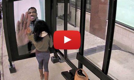 Video: Giannis Antetokounmpo pranks Bucks fans