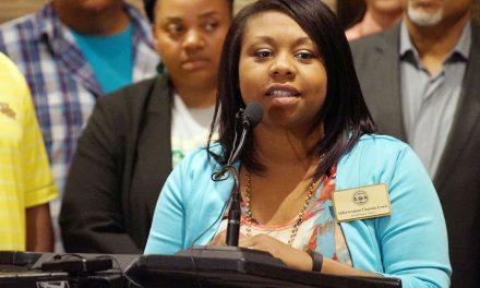 Alderwoman Lewis shares message of prevention over incarceration