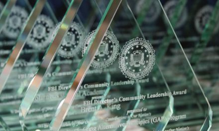 James Comey honors Safe & Sound with FBI's Community Award
