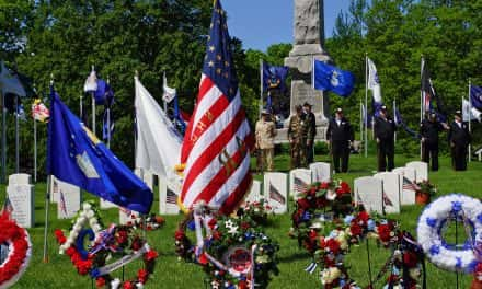 Heroes honored with Memorial Day tributes at Wood National Cemetery