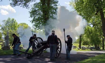 Photo Essay: Calvary Cemetery hosts Civil War era Memorial Day service