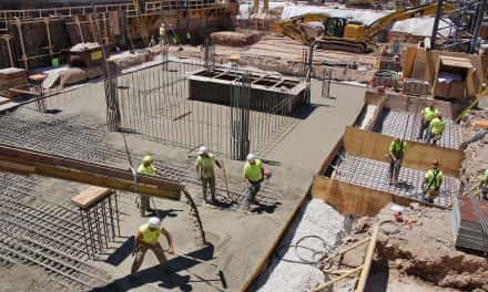Photo Essay: Major concrete pour underway for Farwell tower