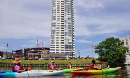 Oar powered exploration offers unique water path through downtown