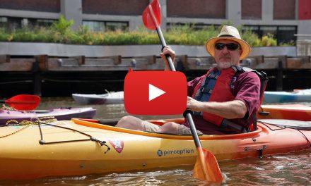 Video: Steve Schaffer navigates yesteryear by kayak