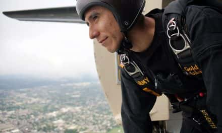 Photo Essay: Golden Knights Practice Jump attempt at 2,000 feet
