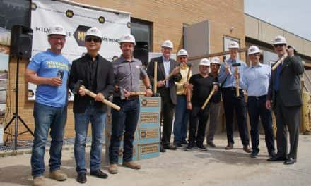 Construction of destination brewery underway for Milwaukee Brewing Company