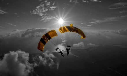 Photo Essay: Free-falling with the Golden Knights Demonstration Team