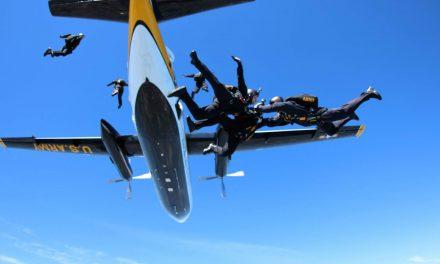 Photo Essay: Golden Knights Precision Landing from 12,500 feet